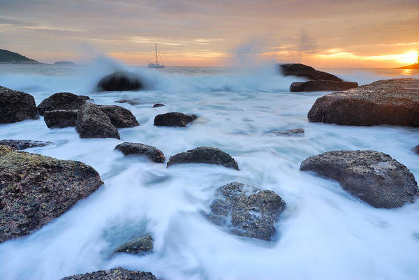 Wall Art - Photograph - Seascape by Teerapat Pattanasoponpong