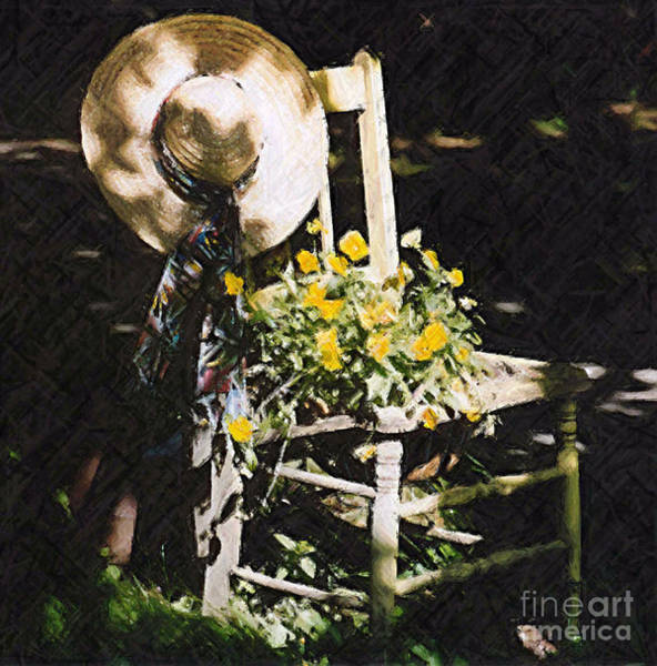 Photograph - Sit A Spell by Donna Bentley