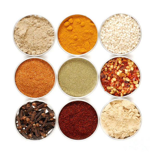 Wall Art - Photograph - Spices by HD Connelly