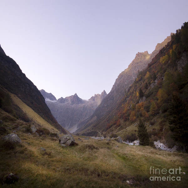 Wall Art - Photograph - Susten Pass by Angel Ciesniarska