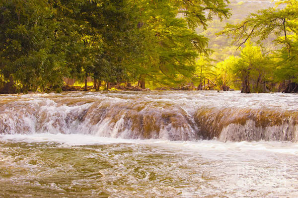 Wall Art - Photograph - The Frio River by Andre Babiak