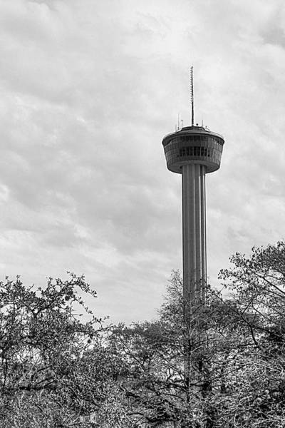Photograph - The Tower Of The Americas by Sarah Broadmeadow-Thomas