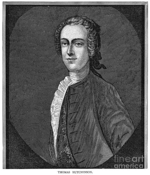 1741 Photograph - Thomas Hutchinson by Granger