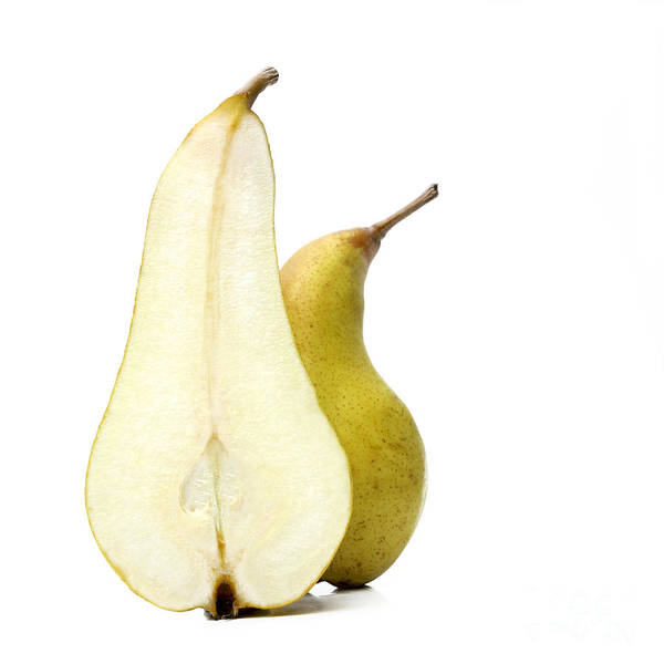 Rosaceae Wall Art - Photograph - Two Pears by Bernard Jaubert