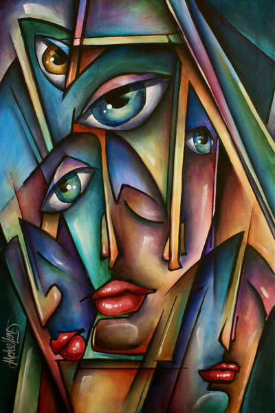 Interaction Painting - Urban Expressions by Michael Lang