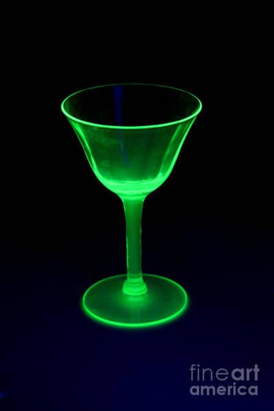 Beta Radiation Photograph - Vasoline Glass by Ted Kinsman