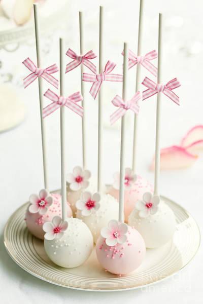 Wall Art - Photograph - Wedding Cake Pops by Ruth Black