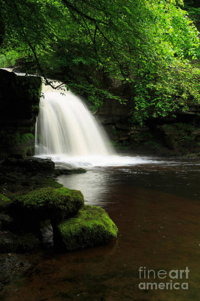 Wall Art - Photograph - West Burton Falls In Wensleydale by Louise Heusinkveld