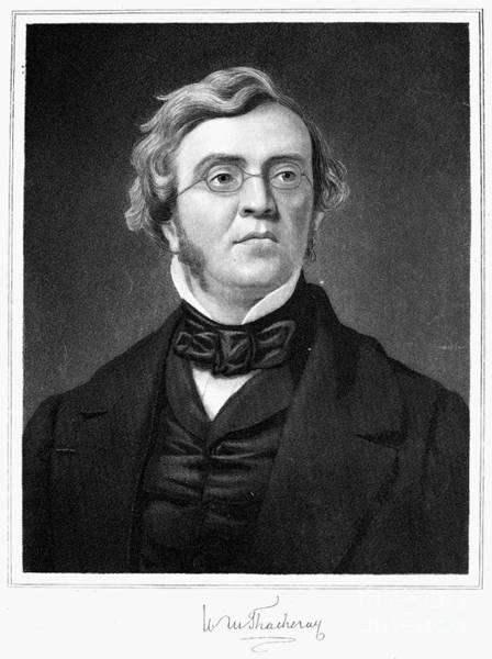 Photograph - William M. Thackeray by Granger