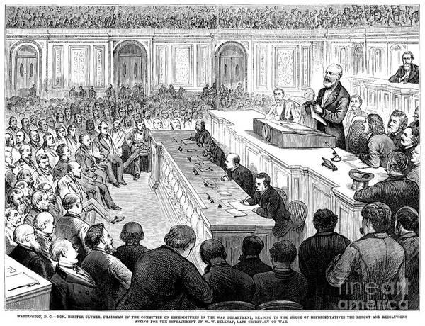 Delegation Photograph - William Worth Belknap by Granger
