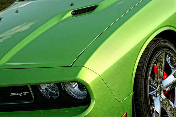 Brembo Photograph - 2011 Dodge Challenger Srt8 - Green With Envy by Gordon Dean II