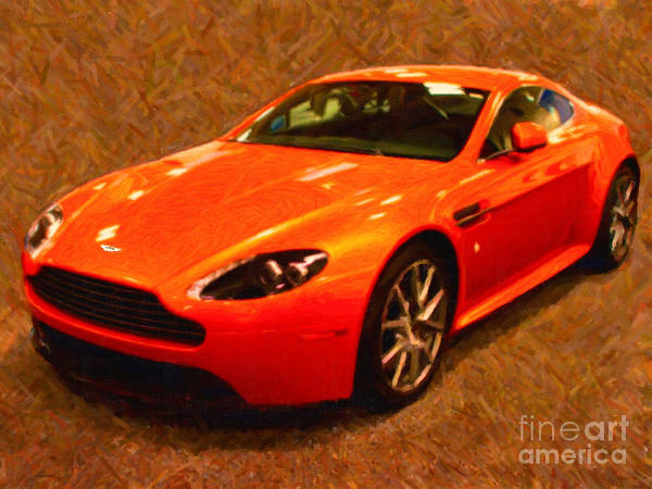 Photograph - 2012 Aston Martin Db9 by Wingsdomain Art and Photography