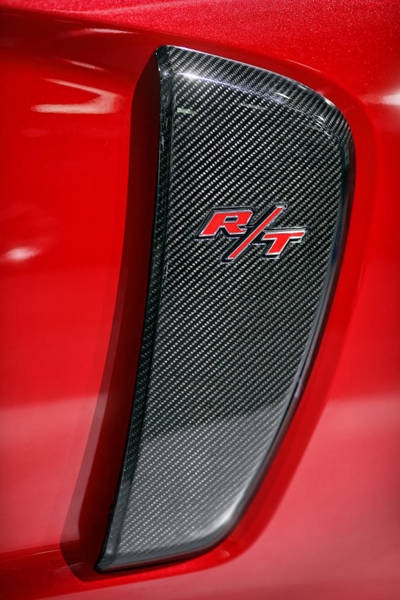 Carbon Fiber Photograph - 2012 Dodge Charger Rt  by Gordon Dean II