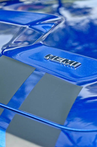 Photograph - 2013 Dodge Rt Hemi Emblem by Jill Reger
