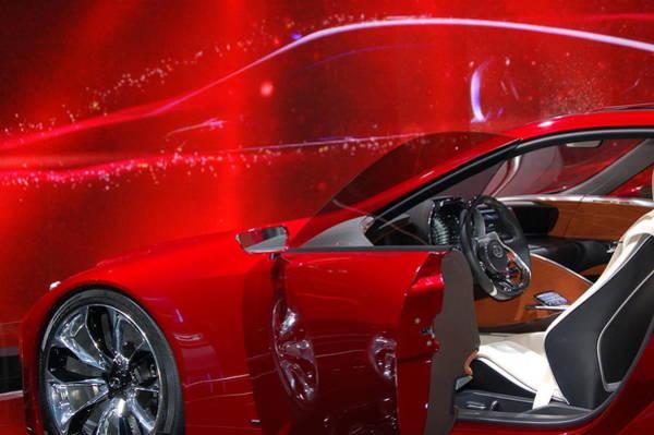 Photograph - 2013 Lexus L F - L C by Randy J Heath