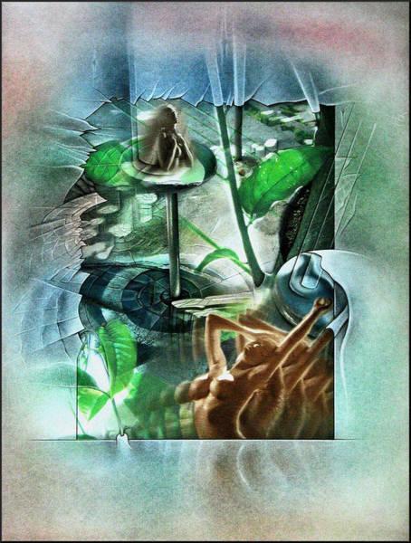Mixed Media - #21 Plantnude 2003 by Glenn Bautista