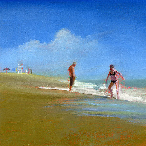 Granddaughter Painting - Rcnpaintings.com by Chris N Rohrbach