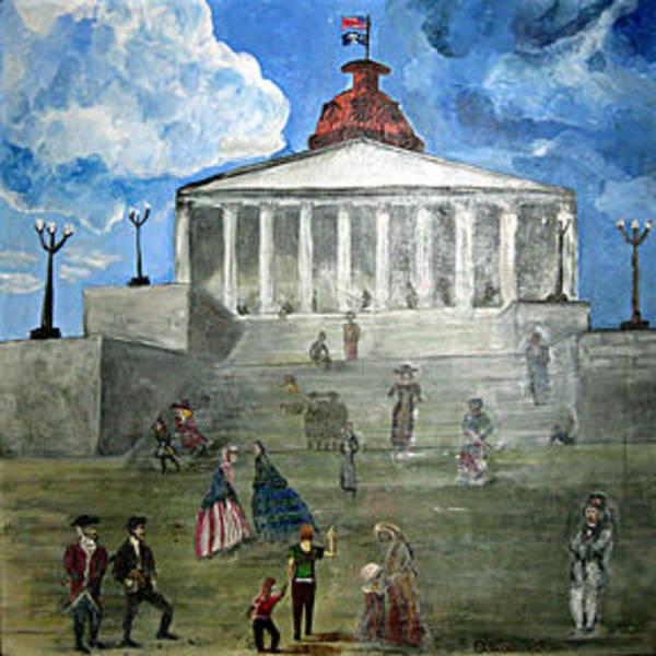 Gullah People Wall Art - Painting - 225 by Alexandra White