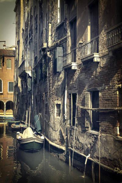 Narrow Boat Wall Art - Photograph - Venezia by Joana Kruse