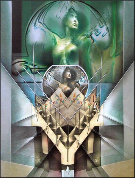 Mixed Media - #26 Stairnudecomp 2003 by Glenn Bautista