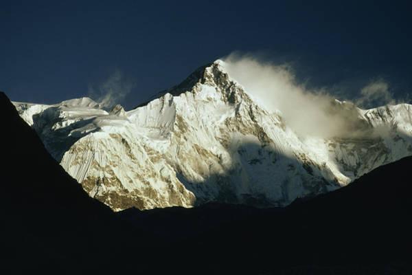 Gokyo Photograph - 26,906-foot Cho Oyu, Worlds 6th Highest by Gordon Wiltsie