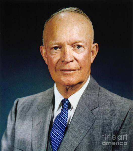 Photograph - Dwight D. Eisenhower by Granger