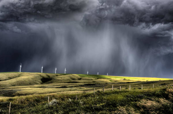 Wall Art - Photograph - Storm Clouds Saskatchewan by Mark Duffy