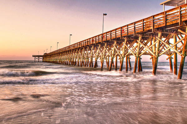 Photograph - 2nd Ave Pier In Morning Light by At Lands End Photography