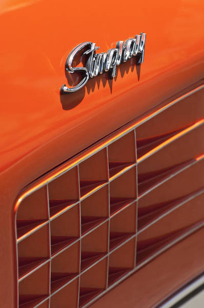 Photograph - 1972 Chevrolet Corvette Stingray Emblem by Jill Reger