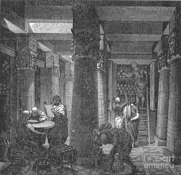 Photograph - Alexandria: Library by Granger