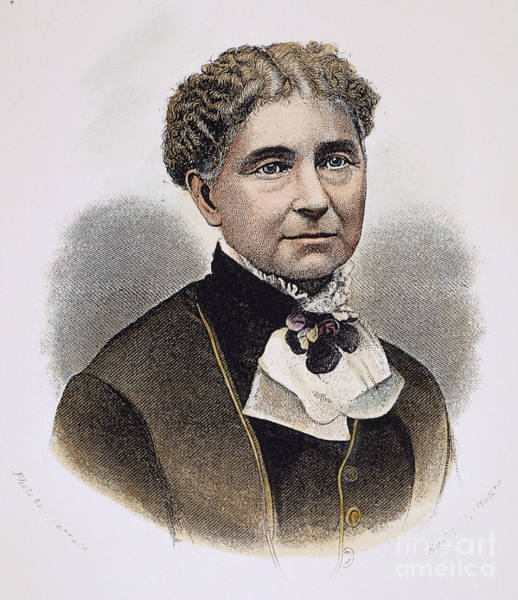 Temperance Movement Photograph - Amelia Bloomer (1818-1894) by Granger