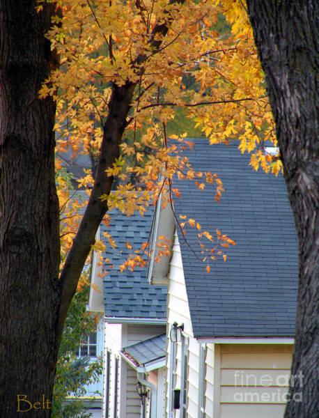 Christine Falls Photograph - Autumn In America by Christine Belt