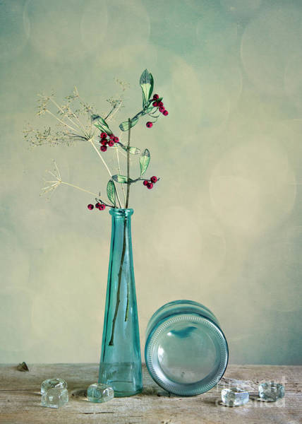 Light Blue Photograph - Autumn Still Life by Nailia Schwarz