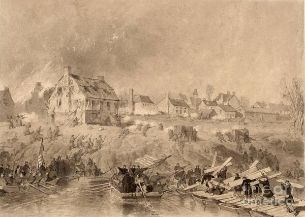 Photograph - Battle Of Fredericksburg by Granger