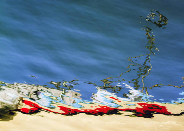 Wall Art - Photograph - Boat Reflections At Sea by Stelios Kleanthous
