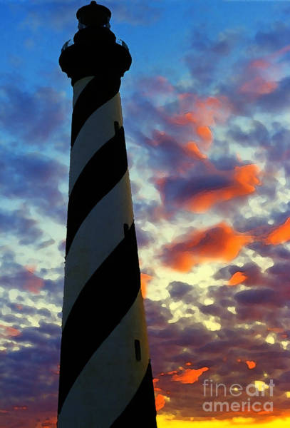 Photograph - Cape Hatteras Lighthouse by Thomas R Fletcher