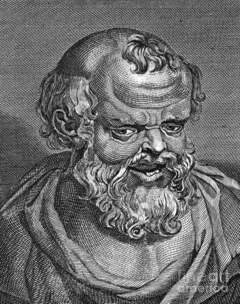 Photograph - Democritus (c460-c370 B.c.) by Granger