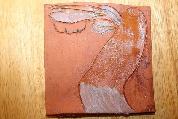 Wall Art - Ceramic Art - Erica - Tile by Gloria Ssali