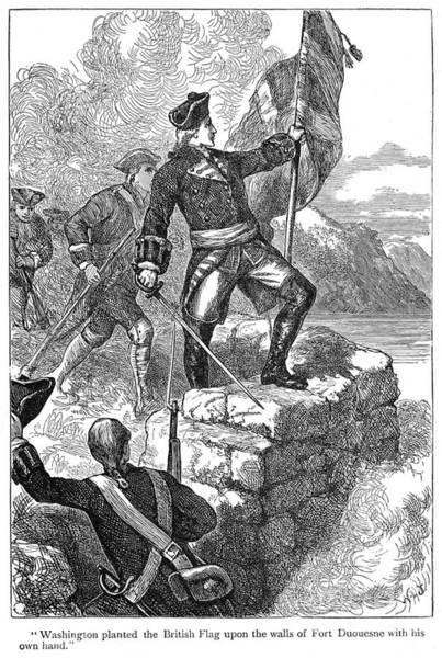 Militiaman Photograph - Fort Duquesne, 1758 by Granger