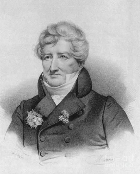 Comparative Anatomy Wall Art - Photograph - Georges Cuvier, French Naturalist by Science Source