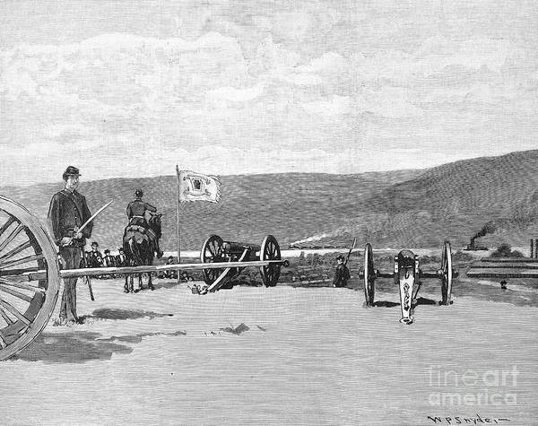 Militiaman Photograph - Homestead Strike, 1892 by Granger
