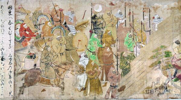 Feudal Japan Wall Art - Photograph - Japan: Mongol Invasion by Granger