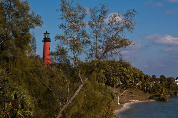 Photograph - Jupiter Inlet Lighthouse by Ed Gleichman