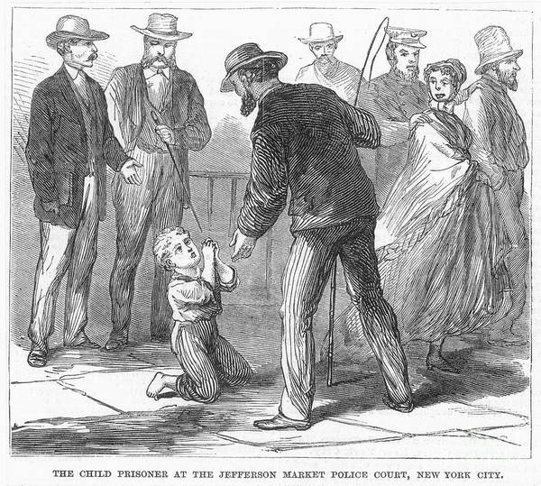 Roosevelt Island Wall Art - Photograph - Juvenile Crime, 1868 by Granger