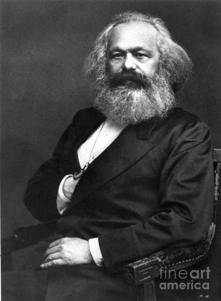 Photograph - Karl Marx (1818-1883) by Granger