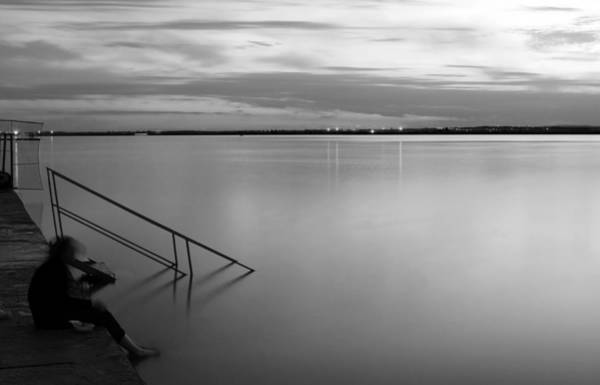 Photograph - Life At The Lake by Odon Czintos