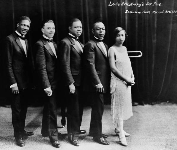 Photograph - Louis Armstrong 1900-1971 by Granger