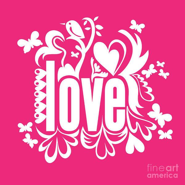 Cutout Digital Art - Love by HD Connelly