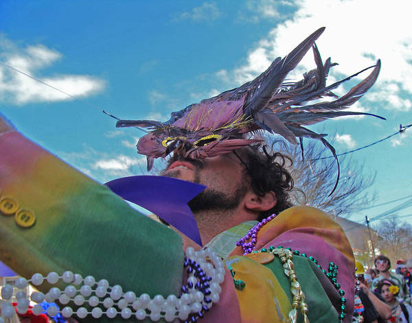 Mardi Gras Day In New Orleans Art Print
