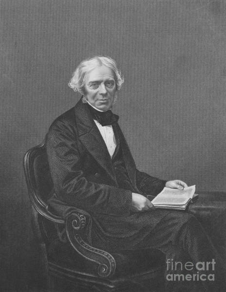 Electrolysis Wall Art - Photograph - Michael Faraday, English Physicist by Science Source